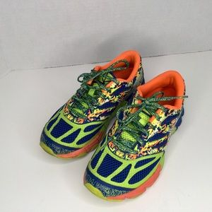 Asics Gel Noosa colourful running shoes. C523N